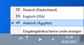 Arabic Keyboard Windows